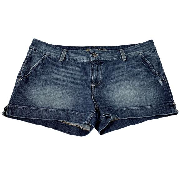 AMERICAN EAGLE AEO Short Jean Shorts -Sz 18